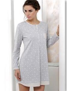 MASSANA camisón de mujer estampado con tapeta L677263