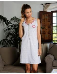 MASSANA camisón estampado sin mangas L187253