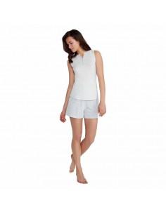 PROMISE pijama de algodón sin mangas N05392