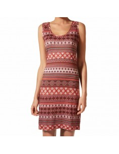 JANIRA vestido sin mangas estampado Croacia Dress IM