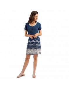 EGATEX vestido estampado con tapeta 181503