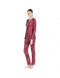 EGATEX pijama de mujer estampado en viscosa 182408