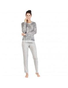 EGATEX pijama de mujer animal print 182508