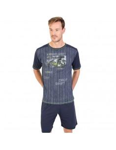 MASSANA pijama de hombre estampado P181334