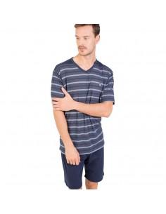 MASSANA pijama de hombre listado P181336