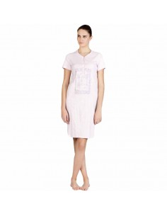 SEÑORETTA camisón con tapeta en algodón 182114