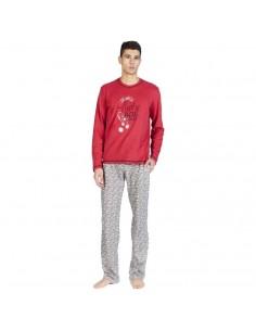 """SOY pijama de hombre en algodón """"Dados"""" 182625"""