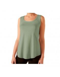 JANIRA camiseta tipo blusón sin mangas SPA modal Loo