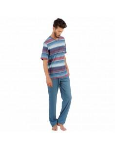 SOY pijama de hombre fino de pantalón largo 181648