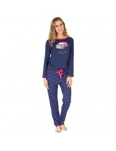 MASSANA pijama de mujer estampado P681202