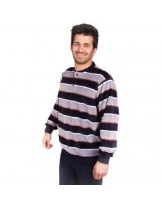 BABELO pijama de hombre de terciopelo con tapeta 4801
