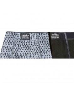 JAN MEN pack 2 boxers de algodón Reflect