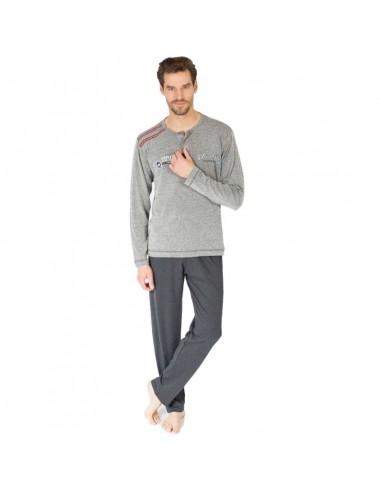 MASSANA pijama fino de hombre con tapeta P681303