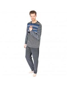 MASSANA pijama de hombre de microrizo P681329