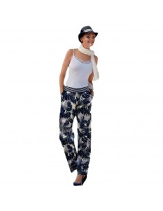 JANIRA legging estampado Tropic Pants Loo