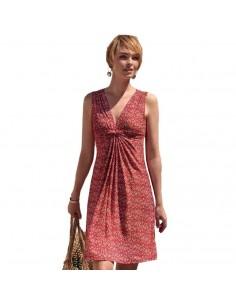 JANIRA vestido estampado sin mangas Decor Dress S/M