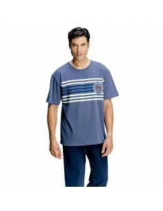 ASSMAN pijama de hombre con pantalón largo 7275