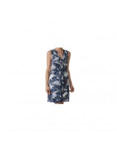 JANIRA vestido estampado sin mangas Tropic Dress S/M