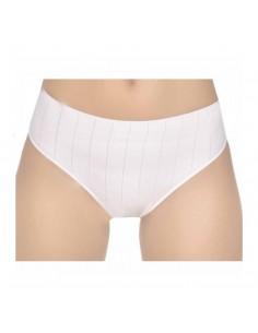 NAIARA bikini tipo midi de listas en algodón 208