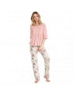 PROMISE pijama de mujer fino entretiempo N07002