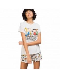 GISELA pijama de mujer Snoopy y sus amigos 2/1587