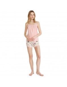 PROMISE pijama de mujer de tirantes N07022