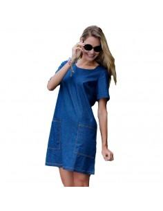 MASSANA vestido de mujer en manga corta L197289