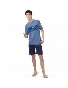 JAVIER GOLMAR pijama de hombre en algodón 2263