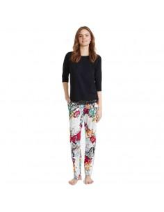 PROMISE pijama de mujer con pantalón largo N07112