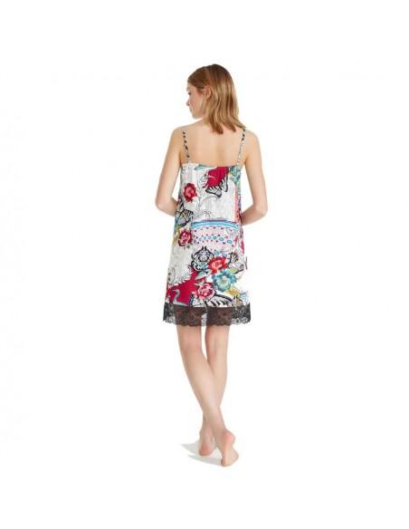 PROMISE camisón estampado en algodón N07141