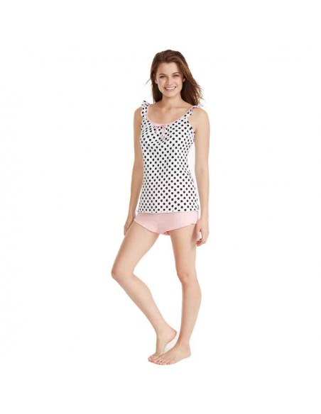 PROMISE pijama de mujer con tirantes N07582