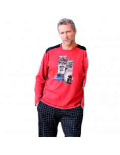 MASSANA pijama de hombre en algodón P691315