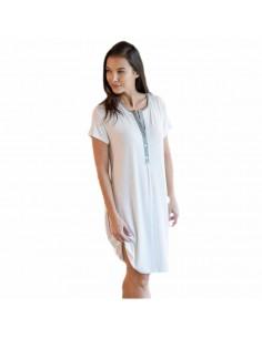 MASSANA camisón con tapeta y tejido de bamboo L697249