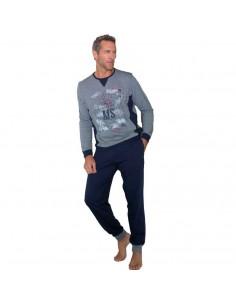 MASSANA pijama de hombre de algodón P691307