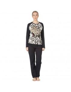 EGATEX pijama de mujer estampado tigre 192566