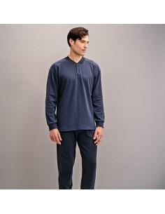 ASSMAN pijama de hombre con tapeta 7308