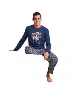 CUE pijama de hombre de...