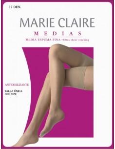 MARIE CLAIRE media con silicona 1551